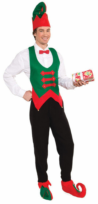 Unisex Elf Vest Costume Piece