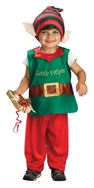 Lil' Elf Toddler Christmas Costume