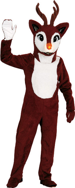 Rudolph Reindeer Professional Mascot Costume