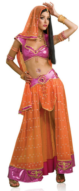Bollywood Indian Dancer Costume