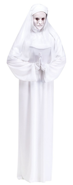 Scary Mary White Nun Costume