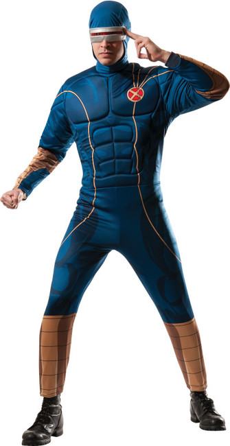 Marvel X-Men Cyclops Muscle Chest Costume