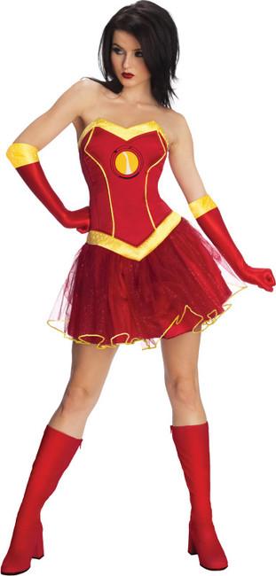 Marvel Rescue Iron Man Ladies Costume