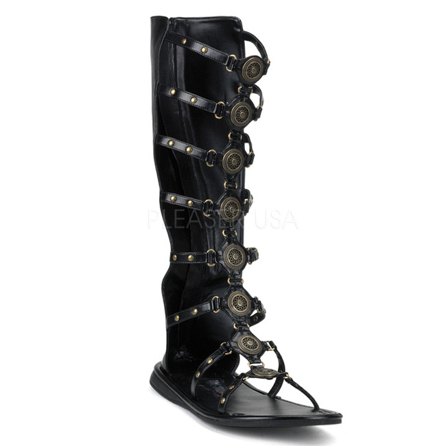 Steampunk Gladiator Men's Roman Sandal
