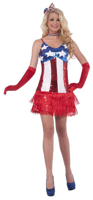 American Patriotic Sparkle, 4th of July Dress