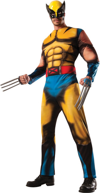 Marvel Wolverine Muscle Chest X-Men Costume