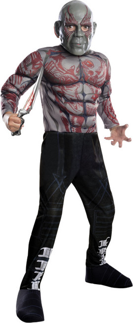 Kids Guardians of the Galaxy Drax the Destroyer Costume