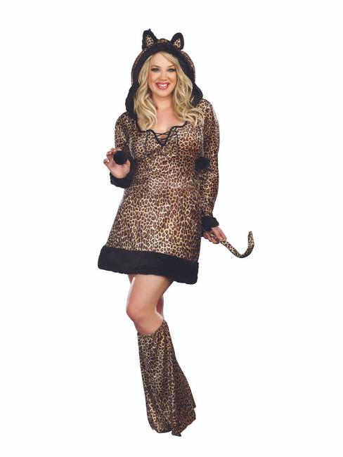 Cheetah-luscious Animal Plus Costume