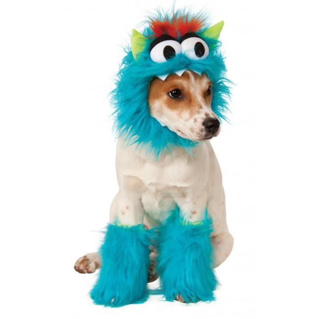 Blue Monster Pet Costume Kit