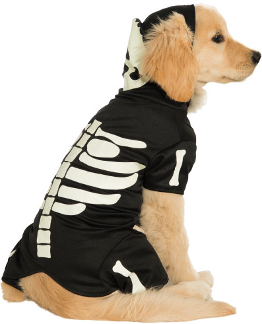 Glow in the Dark Skeleton Bones Pet Costume