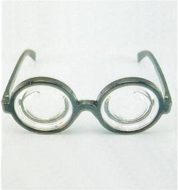 Bottle Lens Nerd Glasses