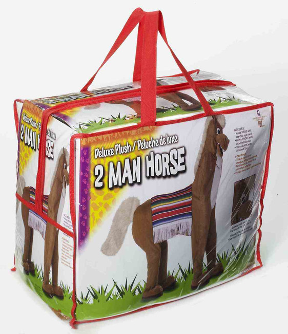Deluxe Plush 2 Man Horse Costume