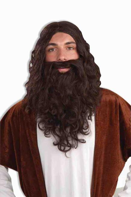 Biblical Jesus Wig and Beard Set