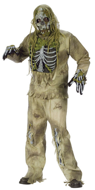 Skeleton Zombie Teen Costume