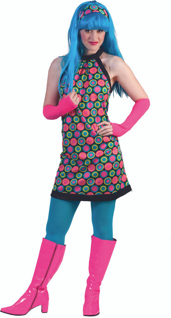 Funkadelic Retro 70s Dress Costume