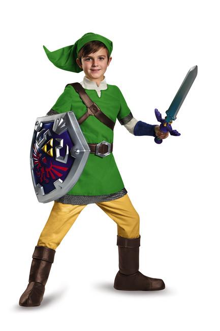 Zelda's Link Child Halloween Costume