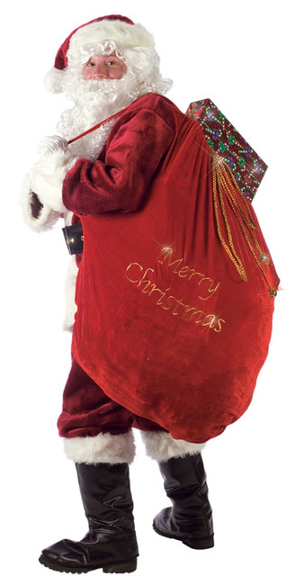 Embroidered Merry Christmas Santa Sack