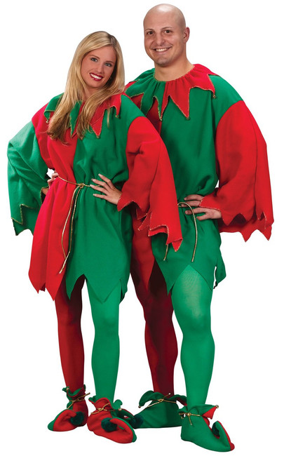 Elf Tunic With Belt Christmas Costume