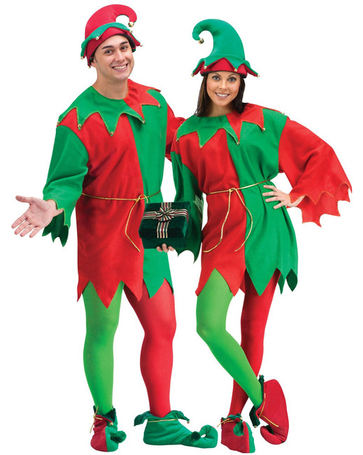 Unisex Elf Holiday Costume