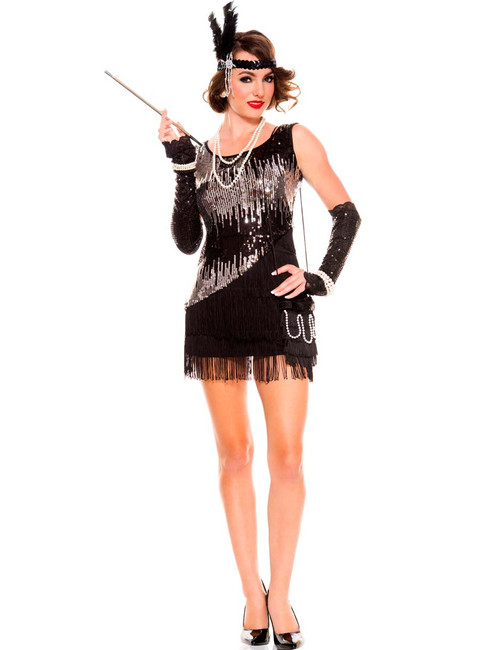 1920s Fearless Flapper Ladies Costume