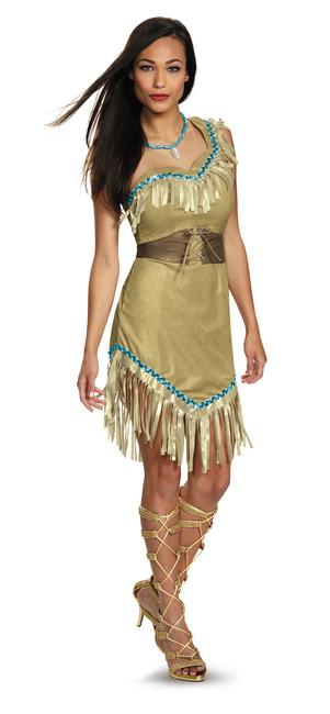 Ladies Prestige Pocahontas Costume