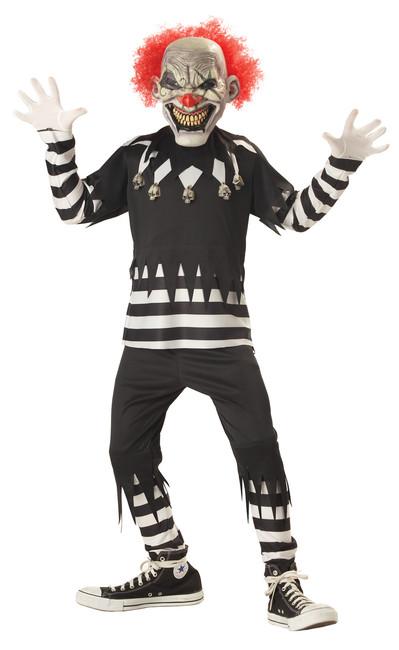 Kids Creepy Clown Costume