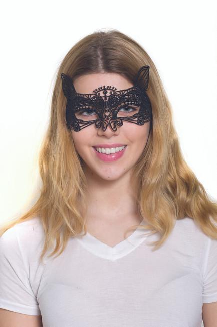 Lace Fox Mask
