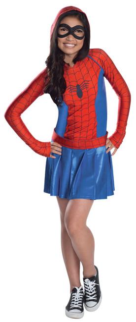 Kids Marvel Spider-Girl Hoodie Costume