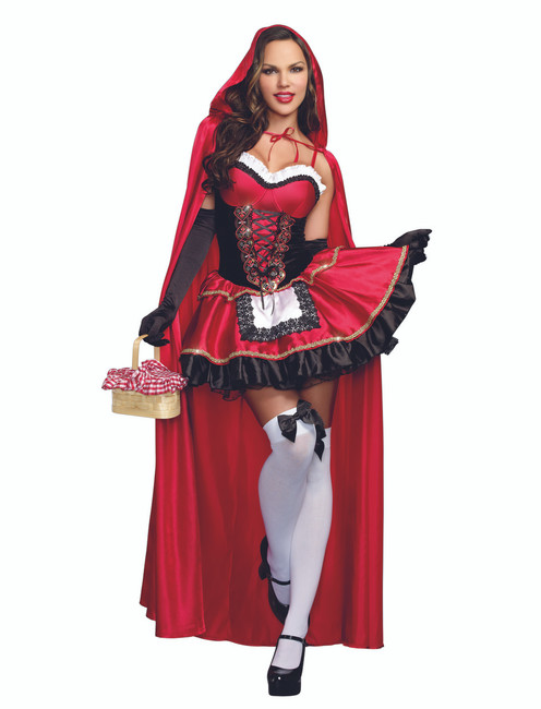 Ladies Little Red Riding Hood Costume