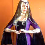 Beautiful Medieval Lady Costume