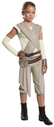 Girls Rey Star Wars The Force Awakens Costume