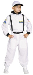 Shuttle Commander Astronaut Kids Costume