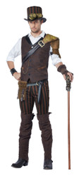Mens Steampunk Adventurer Costume