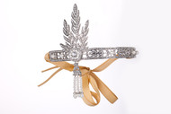 Beautiful Silver Flapper Tiara