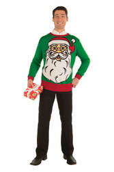Big Santa Claus Ugly Christmas Sweater