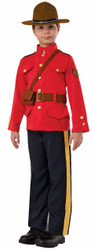 Kids RCMP Mountie Costume