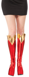 Adult Supergirl Boot Top Covers