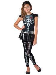 Skeleton Bling Kids Halloween Costume