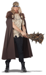 Warlord Skull Brown Cape