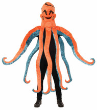 Orange Octopus Adult Costume