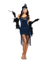 Downtown Doll 1920s Flapper Costume