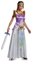 Teen Princess Zelda Deluxe Costume