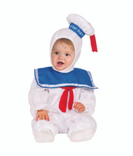 Toddler Stay Puft Marshmallow Man Ghostbusters Costume