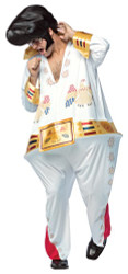 Men's Funny The King Elvis Hoopster Costume