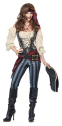 Brazen Buccaneer Ladies Pirate Costume
