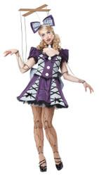 Marionette Puppet Women's Halloween Costume