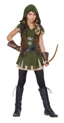 Miss Robin Hood Girls Costume