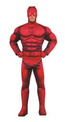 Daredevil Deluxe Mucsle Marvel Costume