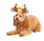 Adorable Pet Light Up Christmas Antlers