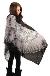 Hedwig Wing Lightweight Harry Potter Scarf